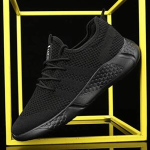 Damyuan Men's Sport Gym Running Shoes Walking Shoes Casual Lace Up Lightweight