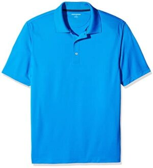 Amazon Essentials Men's Standard Regular-fit Quick-Dry Golf Polo