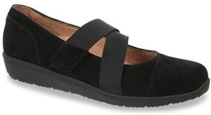 Vionic Women's Shelby - Mary Jane Flats with Concealed Orthotic Arch Support