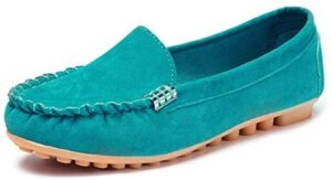 aogula Women's Slip-on Loafers Flat Casual Driving Shoes Comfort Walking
