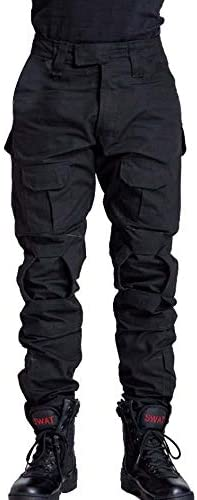 AKARMY Men's Military Tactical Pants Casual Camouflage Multi-Pocket BDU Cargo Pants Trousers
