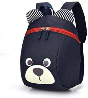 Age 1-2Y Cute Bear Small Toddler Backpack With Leash Children Kids Backpack Bag for Boy Girl