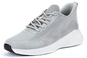 Akk Womens Running Tennis Shoes - Lace Up Knitted Mesh Comfortable Athletic Gym Sports Casual Sneakers