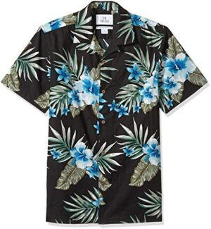 Amazon Brand - 28 Palms Men's Standard-Fit Tropical Hawaiian Shirt