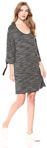 Amazon Brand - Daily Ritual Women's Supersoft Terry Drawstring-Sleeve Dress