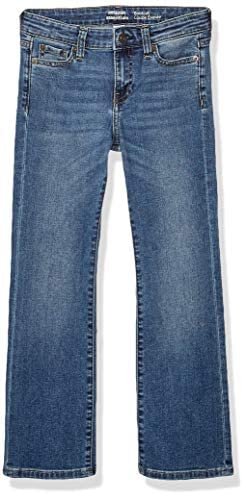 Amazon Essentials Girl's Little Boot-Cut Stretch Jeans