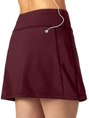 Athletic Skorts Tennis Skirts for Women with Pockets Shorts Golf Skirt Running Workout Sports Activewear