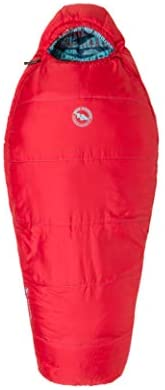 Big Agnes 15-Degree Sleeping Bags for Kids, Juniors & Teens (Little Red, Duster, Wolverine)