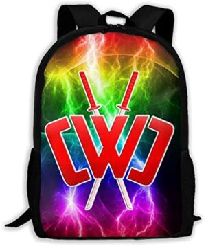 Chad Wild Clay Cwc Backpack 17 Inches Kids School Bag Unique Travel Laptop Bags For Boys Girls