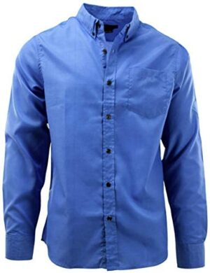 ChoiceApparel Mens Long Sleeve Button Down Dress Shirts (Many Styles to Choos.