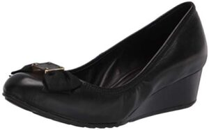 Cole Haan Women's Tali Soft Bow Wedge (40mm) Pump