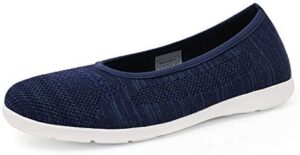 DREAM PAIRS Women's Ballet Flats Shoes Comfortable Walking Shoes Slip On Loafers