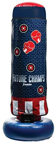 Franklin Sports Inflatable Electronic Boxing Bag - Future Champs - 60 x 22 x 22 inches