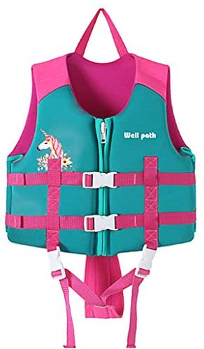 Gogokids Baby Life Jacket Kids Swim Vest Kids Pool Float with Adjustable Safety Strap, Swimming Pool Aid Floats for 2-3 Years Boys and Girls, Children Puddle/Beach, As A Jumper