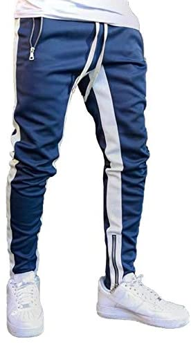Happy Sailed Mens Athletic Jogger Pants Track Sweatpants Casual Running Slim Fit Pants with Pockets M-2XL