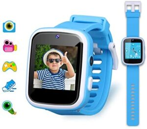 Kids Smart Watch Boys, Gifts for 3-10 Year Old Boys Dual Camera Touchscreen Smart Watch for Kids with Music Player, Educational Toys Toddles Birthday Gift for Boys Ages 6 7 8