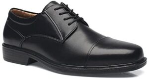 La Milano Wide Width Mens Oxford Shoes Men's Dress Shoes EEE Extra Wide