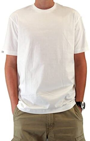 Mens Casual Combed Cotton Supersoft Premium T-Shirts: Twin Pack