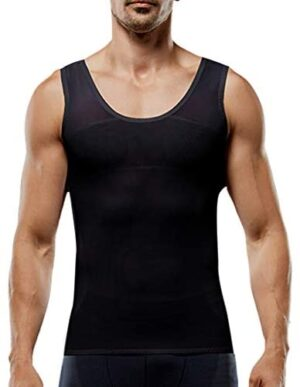 Men's Premium Ice Silk Tank Tops Traceless Thin Breathable Solid V-Neck Casual Sleeveless Top Quick-Dry Muscle T-Shirt