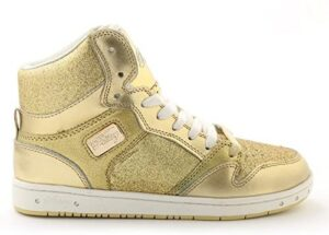 Pastry Glam Pie Glitter High-Top Sneaker & Dance Shoe for Adults