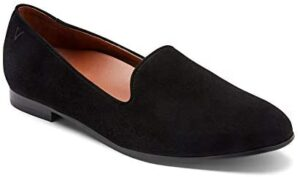 Vionic Women's North Willa Slip On Flat - Ladies Slip On Flat with Concealed Orthotic Arch Support