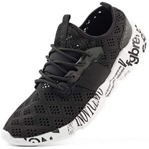 Wander G Men's Lightweight Breathable Mesh Street Sport Walking Shoes Casual Sneakers for Sports Gym Walking