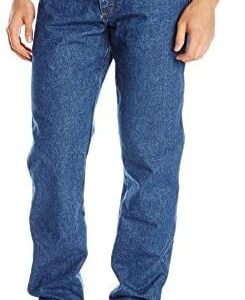 Wrangler Riggs Workwear Men's Fr Flame Resistant Relaxed Fit Jean
