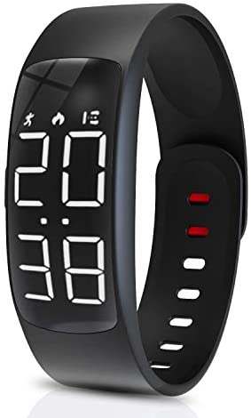 Yehtta Kids Fitness Tracker Gift for Kids Sport Electric Watch for Kids Pedometers for Walking Alarm Calorie Counter Wristband Boys & Girls Sport Bracelet Fitness Activity Watch