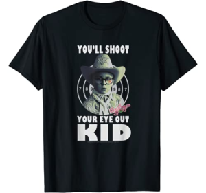 A Christmas Story Ralphie You'll Shoot Your Eye Out Kid T-Shirt