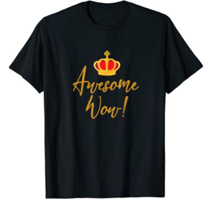 Alexander Hamilton Gift Awesome Red Crown Historic Hamilton T-Shirt