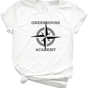 Greenhouse Academy 47 - Unisex T-Shirt for Men Or Women Vintage Retro Shirt for Customize Trending Graphic