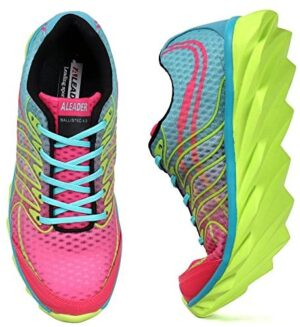 ALEADER Womens Breathable Running Shoes, Colorful Fashion Sneakers, Lightweight Tennis Shoes
