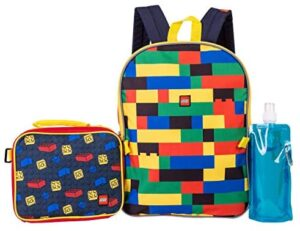 LEGO Batman Backpack Combo Set - Lego Boys' 4 Piece Backpack Set - Backpack & Lunch Kit