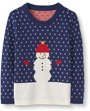 Moon and Back by Hanna Andersson Baby/ Toddler Boys' and Girls' 100% Organic Cotton Holiday Sweater