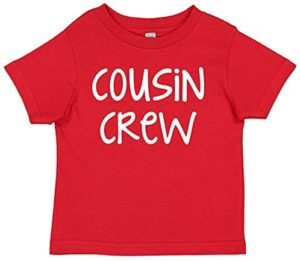 7 ate 9 Apparel Kids Cousin Crew Shirt for Baby and Toddler Girls or Boys Shirt