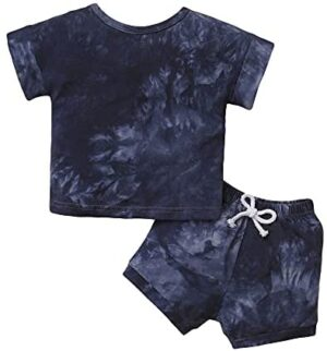 Toddler Baby Boy Clothes Tops Shorts Set Baby Clothes Boy Playwear Summer Boy Outfits