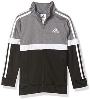 adidas Boys' Tricot Active Track Warm-up Jacket